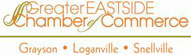 We are members of the Greater EASTSIDE Chamber of Commerce!