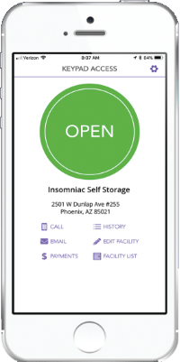 We Offer Hands-Free Access to Your Storage with the Storage Genie mobile app